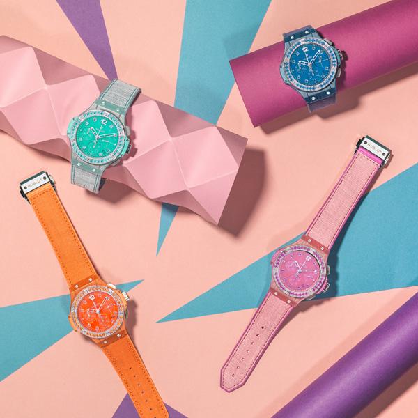 Copy HUB4300 Movement Hublot Big Bang Fruit Flax Watches