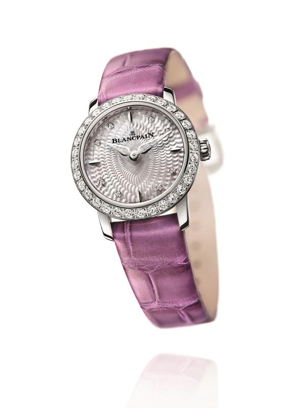 Diamonds Bezel Blancpain Ladybird Replica Watches