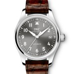 GREY DIAL REPLICA IWC PILOT automatic watch