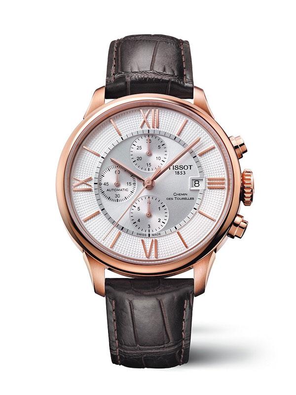 Leather Strap Tissot Chemin Des Tourelles Replica Watches