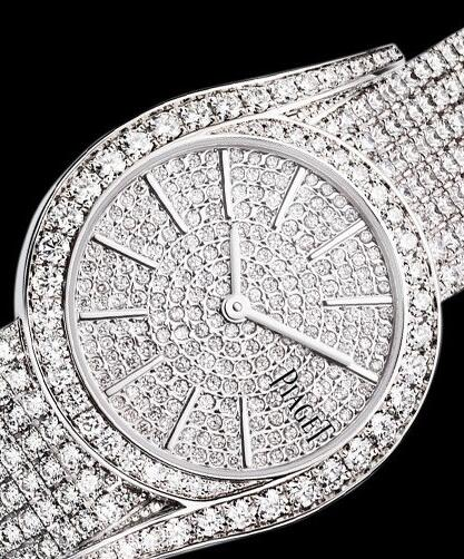 Luxury Piaget Limelight Gala Replica Watches Fully Decorated With Diamonds For Karen Mok