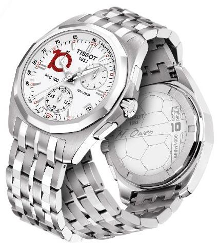 Swiss Quartz Movements Replica Tissot T-Sport PRC100 Limited Edition Watches Match Michael James Owen