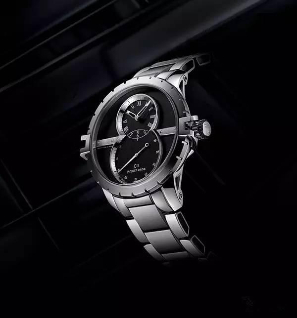 Review Black Dials Jaquet Droz Grande Seconde SW Copy Watches For Men
