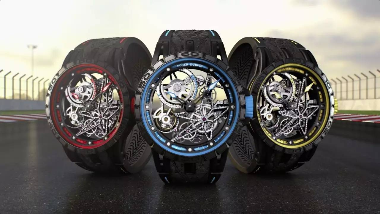 New Roger Dubuis Excalibur Spider Pirelli Replica Watches