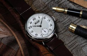 Retro Tissot Heritage Replica Watches With Brown Leather Straps For Sale