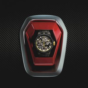 Exquisite Carbon Fibre Cases Roger Dubuis Excalibur Aventador S Replica Watches