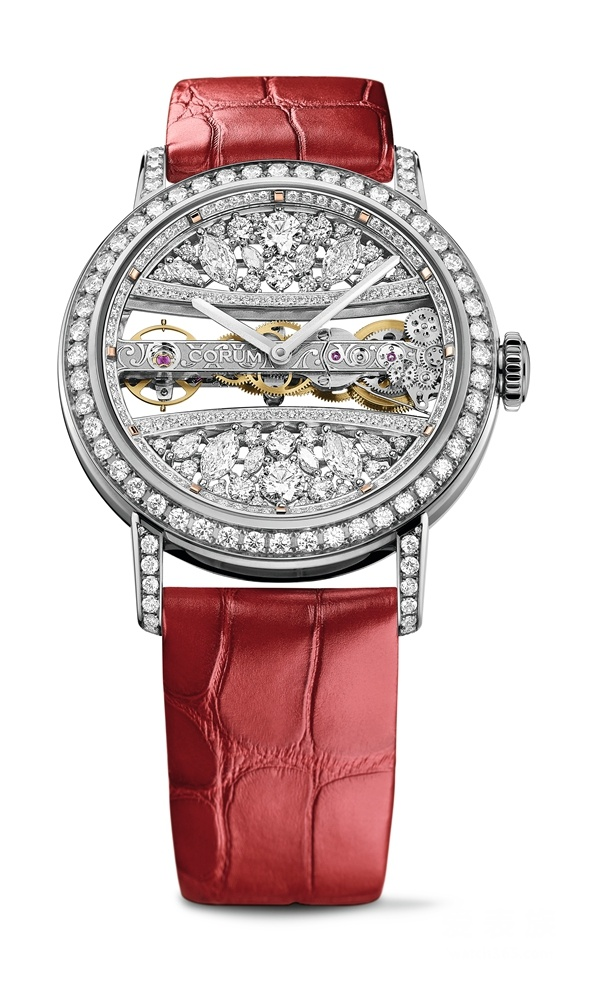 Full diamonds plating copy watches are noble.