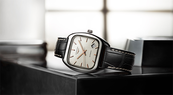 Longines Heritage copy watches with steel cases are inheriting traditional craft.