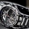 Super Complicated Roger Dubuis Excalibur Spider Ultimate Carbon Replica Watches