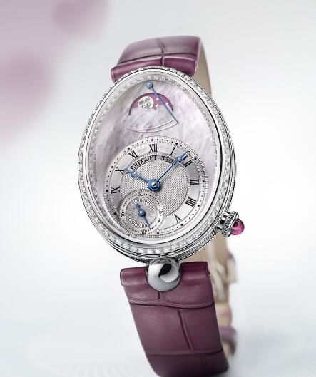 Swiss reproduction watches are delicate with the pink mother-of-pearl dials.