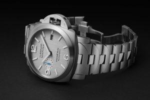 Pure Panerai – Two CA Panerai Luminor Marina Replica Watches With Silver Dials