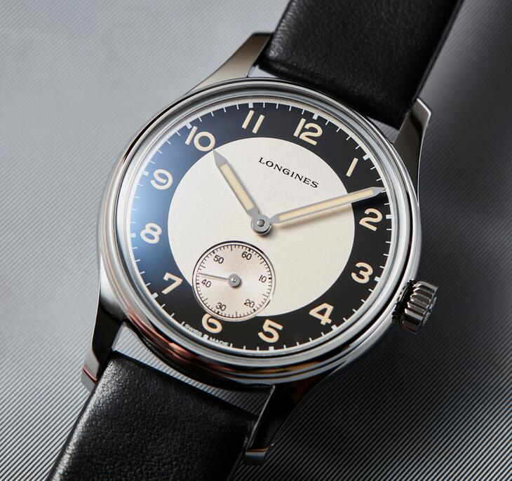 Swiss made replica watches are classic with three hands.